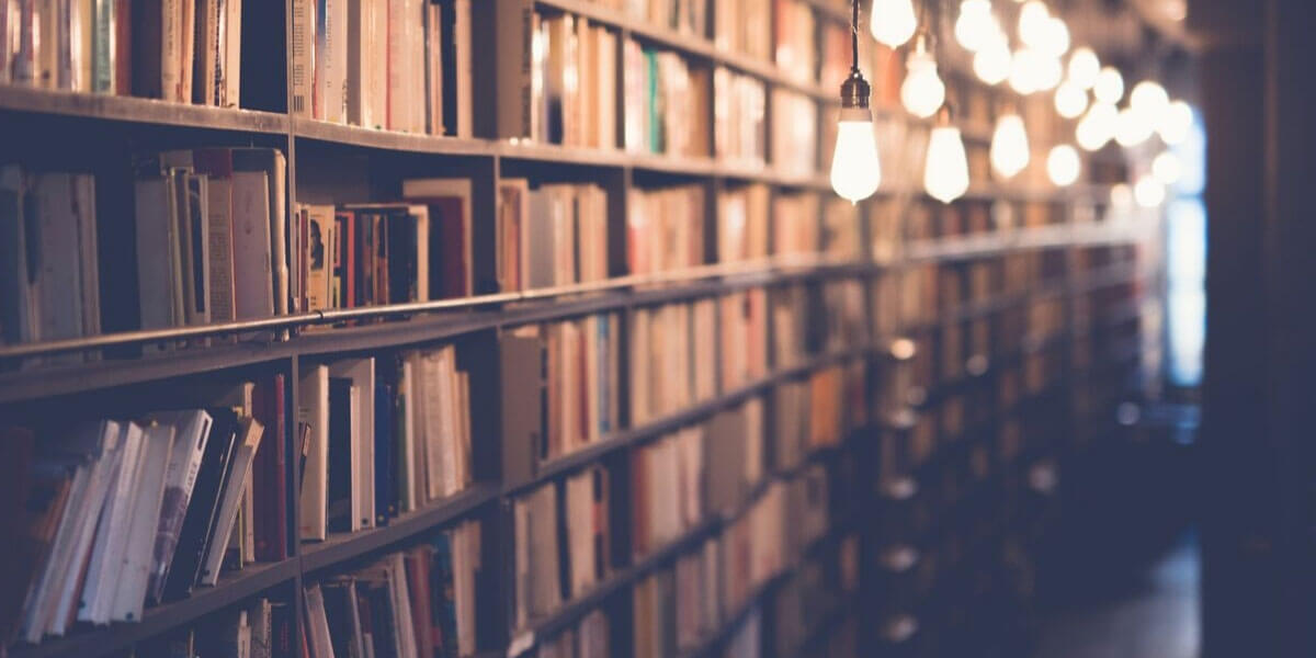 Library Of Book For People To Find Material For Their Presentation